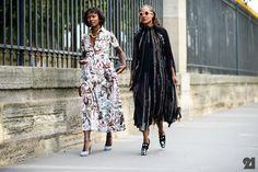 Shala Monroque + Michelle Elie | Paris
