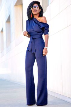Buttoned Dolman Sleeve Jumpsuit