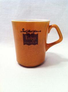Vintage Homer Laughlin Kuby ' s Restaurant Mug Vintage by Comforte, $8.00
