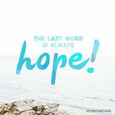 Our God is HOPE! Christine Caine, Words Quotes, Sayings, General Quotes, Word Of Faith, Words Of Hope, Christian Humor, King Jesus, Words Of Encouragement
