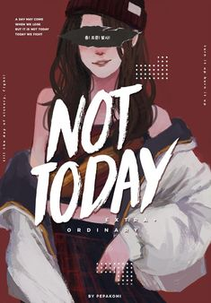 Not today in version femele