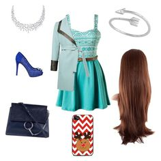 """""""Prom night"""" by herm10ne-ruby on Polyvore featuring GUESS and Chloé"""