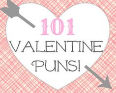 Six pages of dorky valentine puns. Have kid choose a pun and draw it. http://sliceofpink.typepad.com/blog/files/valentinelist.pdf