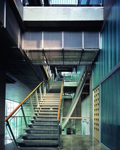Atelier Z+, Shanghai /// Building C – College of Architecture and Urban Planning… Urban Planning, Shanghai, Stairs, Form, Building, Projects, College, Contemporary Architecture, Atelier