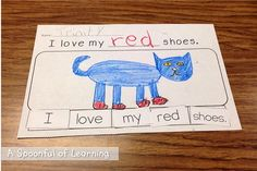 A Spoonful of Learning: Pete the Cat! + FREEBIES!