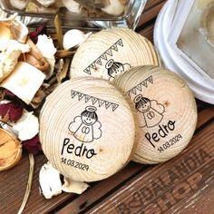 rodajas de madera personalizadas