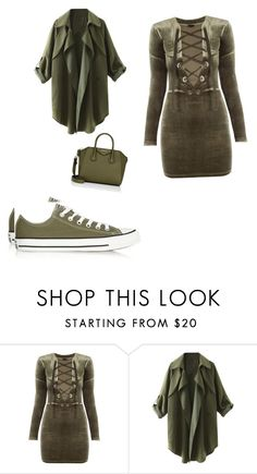 """""""Untitled #215"""" by adrianna-nicole-smith ❤ liked on Polyvore featuring Converse and Givenchy"""
