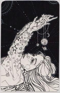 magic-of-eternity:  Art by Зеленая лмпочка