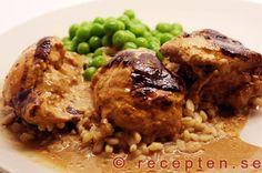 Kyckling i ugn med sambal oelek - Recept