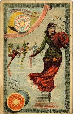 Corticelli Spool Silk is Unequaled by Digital Projects at SDSU Library, via Flickr
