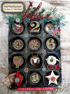 12 Day of Christmas with oh, so many Tim Holtz goodies!