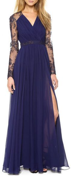This dress is gorgeous... Would love something like this to wear to my sis wedding!