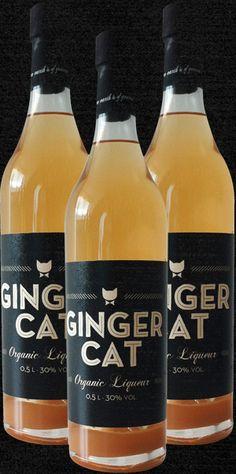 Ginger cat organic liqueur PD