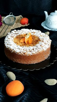 Gâteau Autrichien aux Abricots | Gourmandise Assia Sweet Desserts, Sweet Recipes, Delicious Desserts, Dinner Party Recipes, Easy Party Food, Baking Recipes, Dessert Recipes, Food Chemistry, Sweet Cooking
