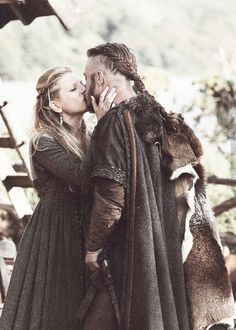 Lagertha and Ragnar. My favourite program on TV