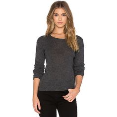 James Perse Cashmere Loose Gauze Sweater Sweaters & Knits ($295) ❤ liked on Polyvore featuring tops, sweaters, sweaters & knits, loose knit sweater, loose tops, cashmere tops, loose fit sweater and cut loose tops