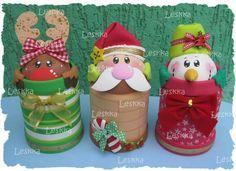 f8d6d1d09f229 Aprende cómo hacer hermoso cotillón o dulcero navideño en foami