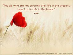 Enjoying your life