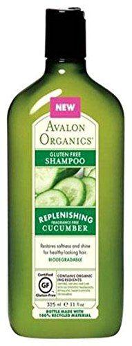 Avalon Organics Cucumber Gluten Free Conditioner - Fragrance Free - 11 oz by Avalon Organics Organic Face Wash, Avalon Organics, Organic Shampoo, Oily Hair, Hair Conditioner, Cucumber, Fragrance, Gluten Free, Sin Gluten