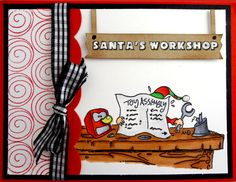North Pole Toymakers - Burning the Midnight Oil