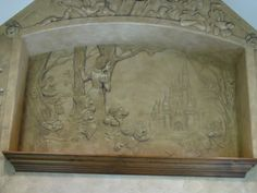 Disney Themed Stone Mural «  Chicago Muralist