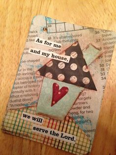 as for me and my house we will serve the lord | pinned by carey norton