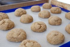 Food Hunter's Guide to Cuisine: Greek Yogurt Molasses Cookies: