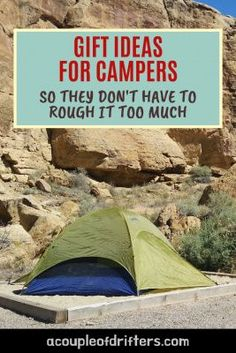 Make someone a happy camper with our practical gift guide for campers. Pick a present that's sure to enhance their camping experience. We've got camping gift ideas for weekend warriors, family fun trips and backcountry campers. No matter your budget we've got the perfect camping gifts for you. #camping #campinggifts #uniquecampinggifts #campinggiftideas #outdoorsy #giftideascamping Travel Advice, Travel Guides, Travel Tips, Travel Hacks, Usa Travel, Travel Essentials, What To Bring Camping, Best Travel Gifts, Hiking Photography