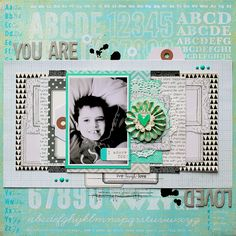 ★Scraptherapie★: {You are loved}