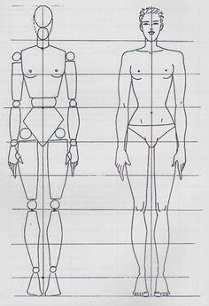 Mannequin bois et mannequin en chair