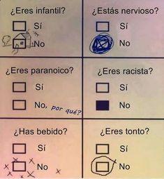 Mi último examen :( Imagenes de Risa Para Descargar Mega Memeces Más en I➨ www.megamemeces.c... ➧ http://www.diverint.com/humor-grafico-actualidad-chica-borracha-tren #humorgrafico