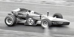 The Chaparral F5000 car at its only race, Lime Rock 1971 . Copyright Don Feeley 2006. Used with permission.