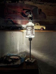 jack daniel bottle light