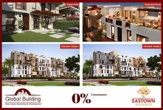 Zero Commission Buy your dream property with no commission fees , Your vision is our mission , Sodic Egypt New cairo , Eastown Compound   Limited Unites with Unique Locations... Duplexes & apartments ranged spaces (127 SQm to 320 SQM)  Installment over 5 & 6 years ... First term after 3 years ......  All In EASTOWN New Cairo  Your chance to Invest with Luxury  Ask about the special offers on Cash $$ Call : +201280200002 - +201270100500 info@gb.com.eg
