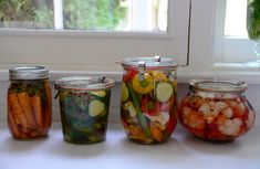 Lebanese quick pickles, and my mouneh | Maureen Abood