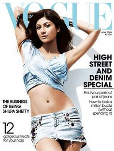 Shilpa Shetty Vogue India June 2009