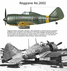 Reggiane RE 2002 German production during occupation Aircraft Photos, Ww2 Aircraft, Military Aircraft, Aircraft Painting, Ww2 Planes, Military Equipment, Military Weapons, Nose Art, Aviation Art