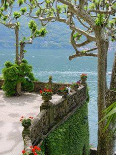 Villa Balbianello in Lake Como, Italy