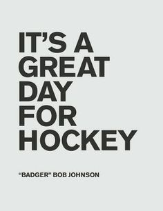 Many squads are starting preseason today and it is certainly a great day for hockey!