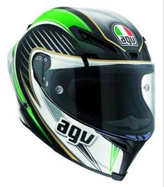 AGV CORSA RACETRACK ITALY Motorcycle Helmets - Arai, AGV & Shoei Helmets