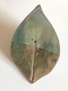 Saboneteira Folha de Amoreira Verde
