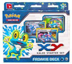 Pokemon XY Kalos Starter Deck - Froakie | DA Card World