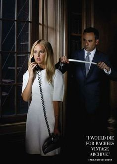 I Die (Harper's Bazaar) Rachel Zoe and Francisco Costa of Calvin Klein