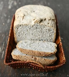 Ricetta Pane in cassetta con grano saraceno e semi di sesamo nero