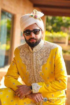 Ideas for Groom Wear, Decide what to wear - Sherwani or Wedding Suit Sherwani For Men Wedding, Wedding Men, Wedding Suits, Wedding Ideas, Best Indian Wedding Dresses, Modi Jacket, Groom Wedding Dress, Indian Groom Wear, Groom Poses