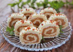 Romanian Desserts, Creme Caramel, Sweet Cakes, Kiwi, Sushi, Diy And Crafts, Bakery, Rolls, Sweets