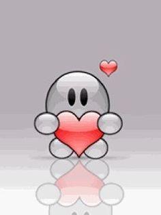 "Imagen ""gif"" 🎀 ・ ☆ ・ 𝔤𝔢𝔣𝔲𝔫𝔡𝔢𝔫 𝔞𝔲𝔣 ・ ☆ ・ 𝔇𝔬-𝔦𝔱-𝔶𝔬𝔲𝔯𝔰𝔢𝔩𝔣 ℑ𝔡𝔢𝔢𝔫ð . Smiley Emoticon, Romantic Humor, U Mobile, Hug Quotes, Iphone Wallpaper Vsco, Mobile Screensaver, Cute Cartoon Pictures, Good Night Messages, Cute Love Gif"