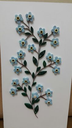 Quilling- Flower-of-not-me - Diy How to Crafts Quilling Cake, Quilling Birthday Cards, Paper Quilling Cards, Arte Quilling, Paper Quilling Flowers, Paper Quilling Patterns, Quilled Paper Art, Quilling Flowers Tutorial, Paper Quilling For Beginners