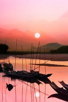 Mae Khong River, Thailand: