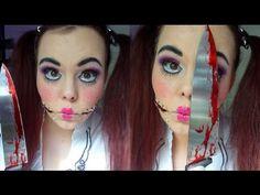 Psycho Baba Smink Halloweenre / Farsangra